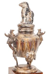 Bronze Covered Urn