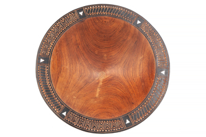 Papua New Guinea Inlaid Bowl