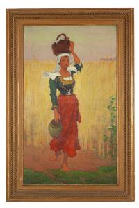 Charles Lasar (1856-1936) Painting