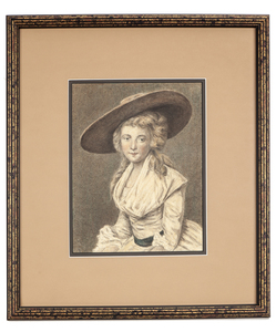 Drawing of a Young Woman