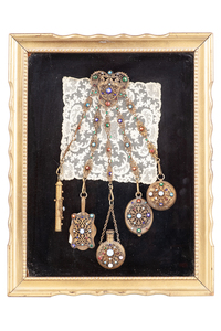 Chatelaine In Shadow Box