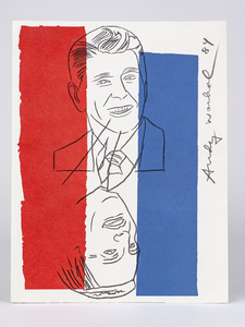 Andy Warhol Invitation (Election Night 1984)