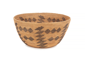 Yokuts Native American Basket