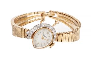 Baume & Mercier Diamond 14k Watch