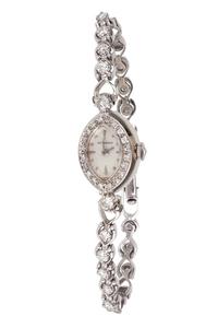 Lady's Diamond 14k Wittnauer Watch