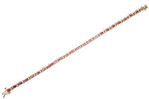 Ruby 14k Bracelet