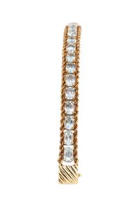 Blue Topaz 14k Bracelet