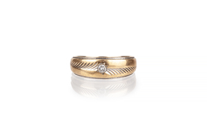 14k Gold Band, 5.1 grams