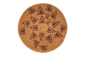 Maidu Basketry Plate