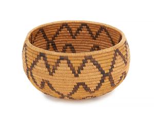 California Mission Indian Basket Bowl