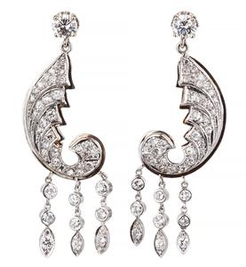 Diamond 14k Earrings