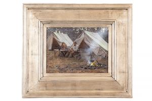 John Seerey-Lester (b. 1946) Painting,