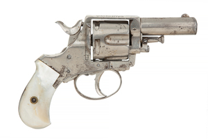 California Bull-Dog Revolver with Mother of Pearl Grips