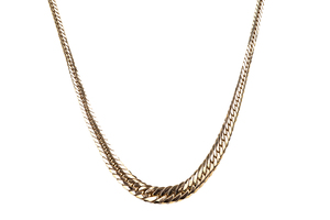 14k Yellow Gold Necklace, 7 grams