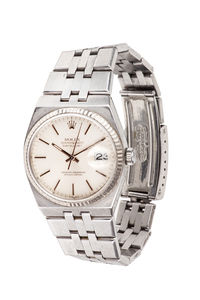 Men's Rolex Stainless Steel Oyster Quartz Datejust Chronometer Watch
