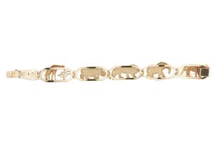 9k Gold Bracelet, 37 grams