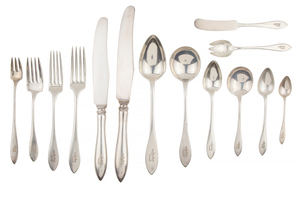 181- Piece Sterling Silver Towle Flatware Service, 192 ozt