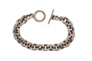 Georg Jensen Sterling Silver Bracelet, 2.67 troy