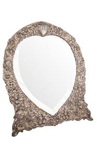 English Sterling Sliver Dresser Mirror