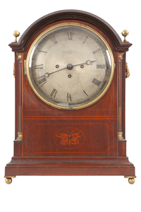 Elliot London Bracket Clock for Shreve, Crump and Low