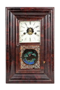Two Antique Clocks