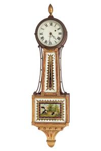 E. Howard and Co. Banjo Clock
