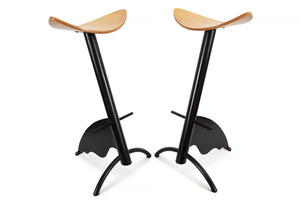 Pair of Contemporary Counter Stools