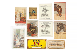 Victorian Occupational Cabinet Cards, and Postcards