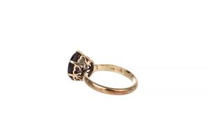 Brown Star Sapphire 12k Ring