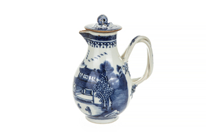 Chinese Export Cream Jug with Lid