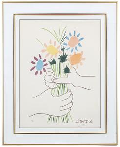 Pablo Picasso (1881-1973) Lithograph,