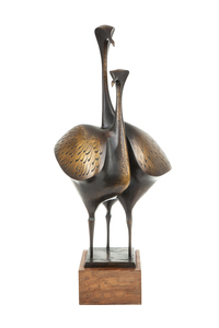Douglas Purdy Bronze Sculpture,