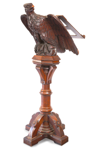 19th Century Walnut Lecturn
