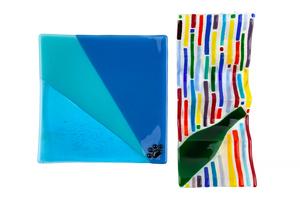 2 Art Glass Items by J.R. Sterba & Christy Spoto