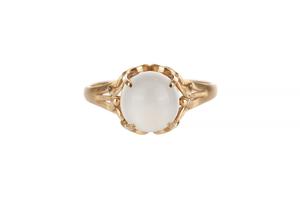 Moonstone 18k Ring
