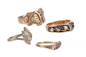 Assorted Black Hills Gold Jewelry