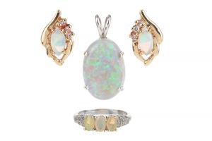 Assorted Opal Jewelry