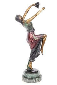 Joe Descomps (1869-1950) Bronze