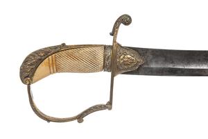 Superb American or British D-Guard Saber Sword