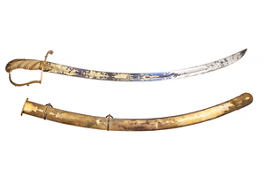 Mounted Artillery or Cavalry Officer's Saber Sword