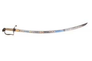 Five Ball Hilt American Eaglehead Saber Sword
