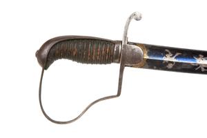 1796 Light Cavalry Officer's Saber Sword, beautiful Solingen Blade