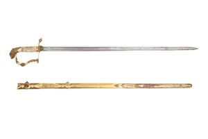 American Officer's Eaglehead Spadroon Sword