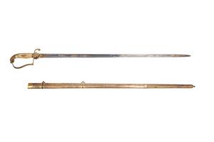 American Eaglehead Spadroon Sword