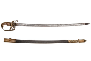 Naval Officer's Eaglehead Non Regulation Sword circa 1850