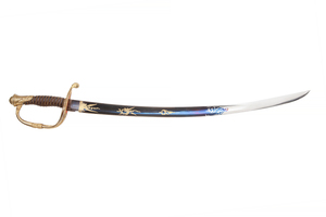 American made 1821 French Infantry Officer's style Child's Sword by Lambert, Philadelphia