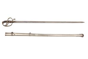 Mexican Cavalry Officer's Sword circa 1820