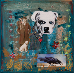Susan Lehman & Susan Z'berg Mixed Media,