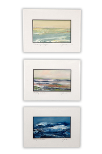 Three Judy Jacobs Paintings, Seascapes