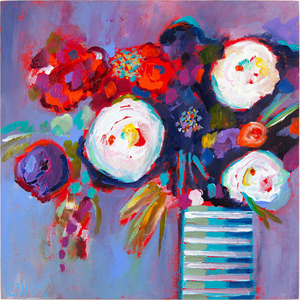 Tim Collom Painting, Flowers